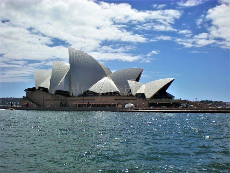 Ikonowy symbol Australia Piękna Sydney opera obrazy stock