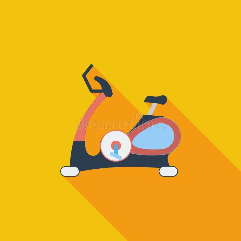 Ikony ćwiczenia bicykl royalty ilustracja