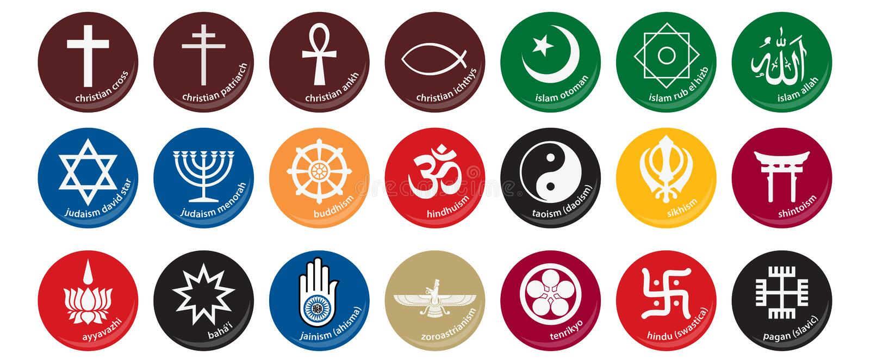 ikony (1) religia royalty ilustracja