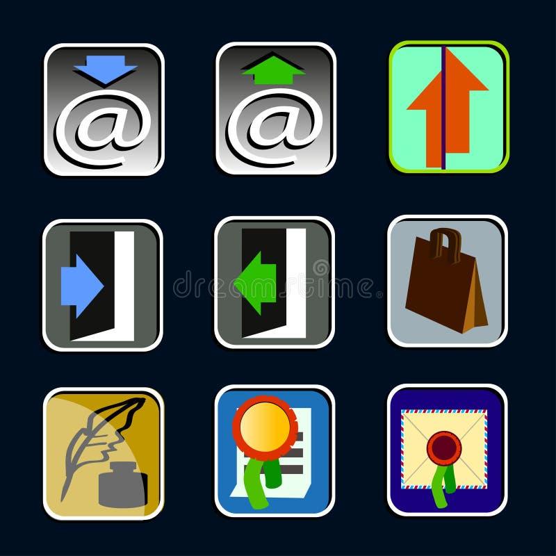 ikony obrazy stock