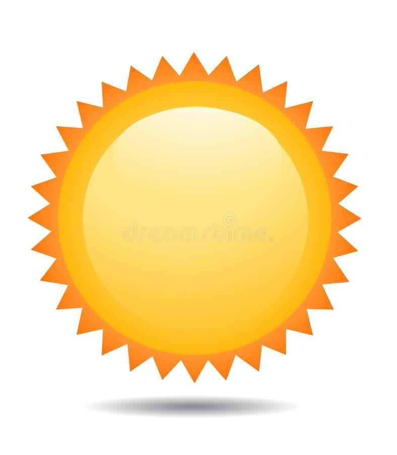Download Ikony ilustraci słońce ilustracja wektor. Ilustracja złożonej z kreskówka - 13341846