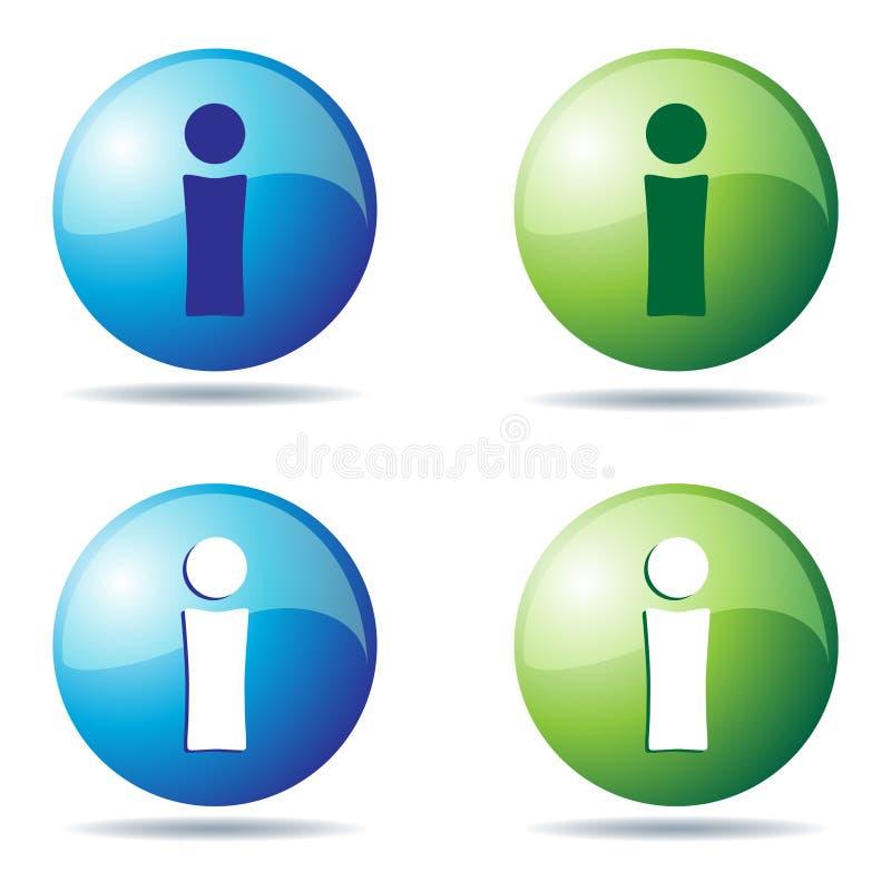 ikony info ilustracja wektor