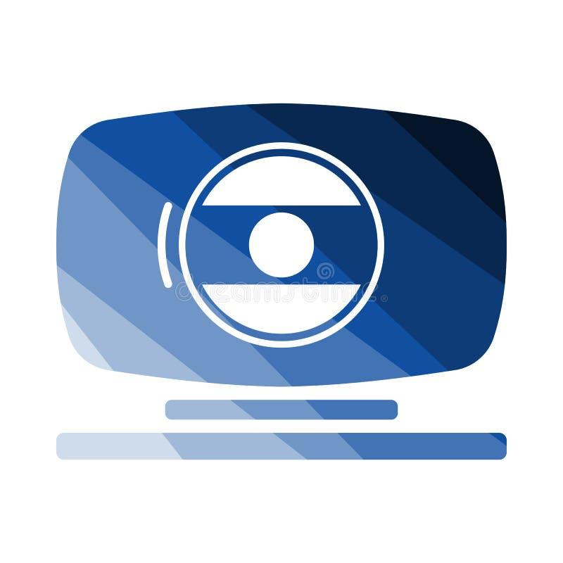 ikony kamera internetowa ilustracyjna realistyczna royalty ilustracja