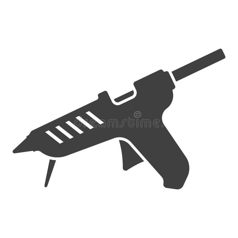 Ikony kleidła pistolet Wektor na bia?ym tle ilustracja wektor
