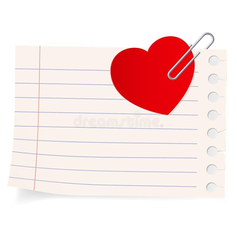 ikony listu miłość royalty ilustracja