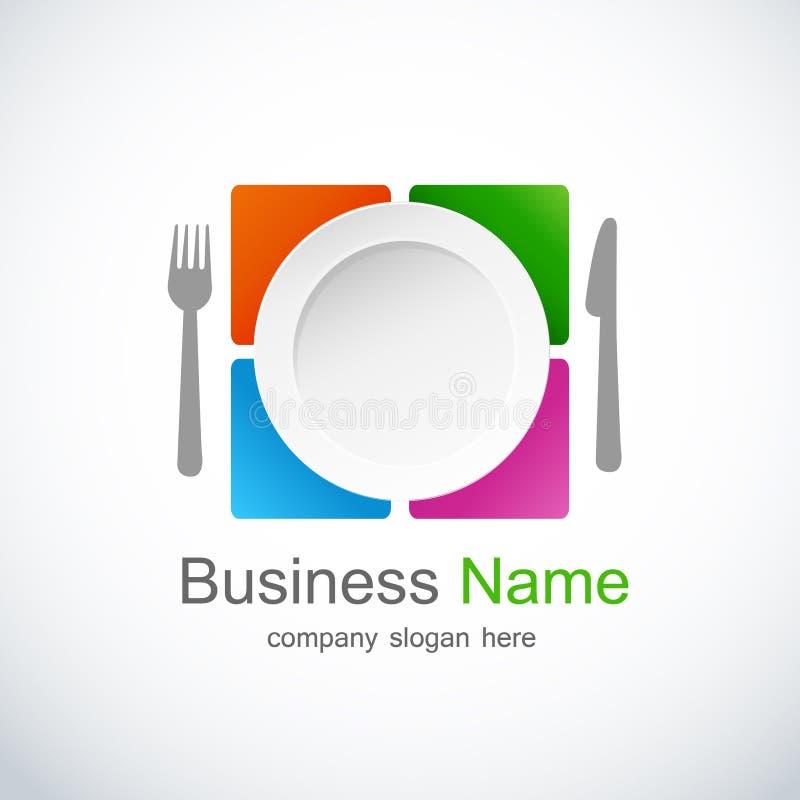 ikony loga restauracja ilustracji