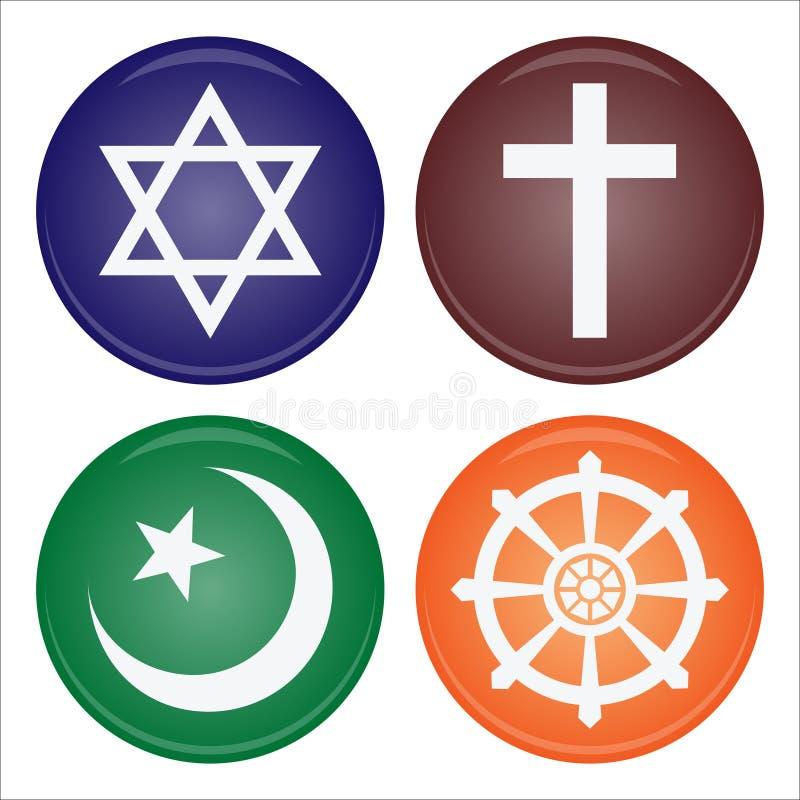 ikony religia ilustracji