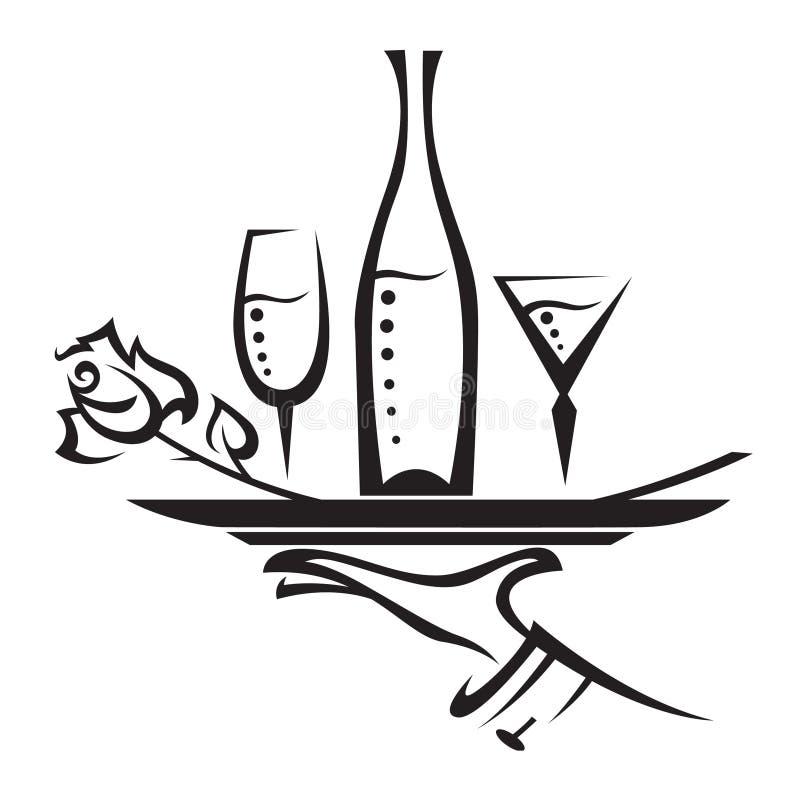 ikony restauracja ilustracja wektor