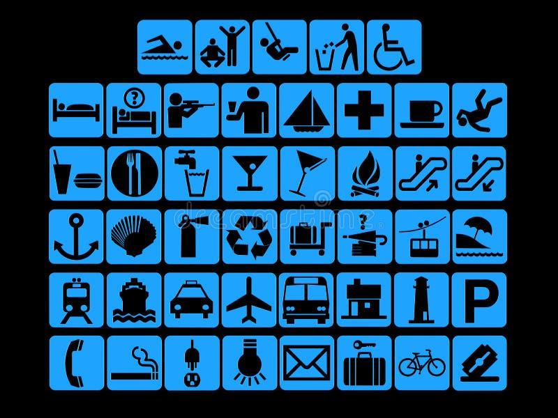 ikony sieć ilustracja wektor