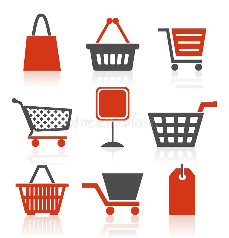ikony sprzedaż ilustracja wektor