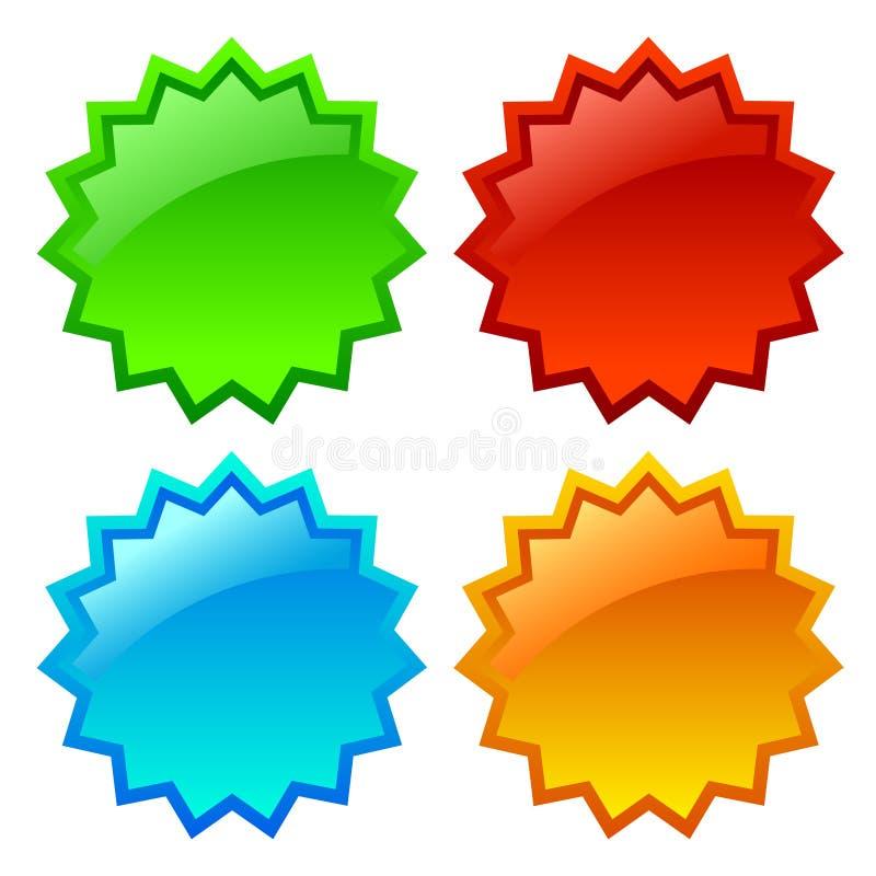 ikony sprzedaży gwiazda ilustracji