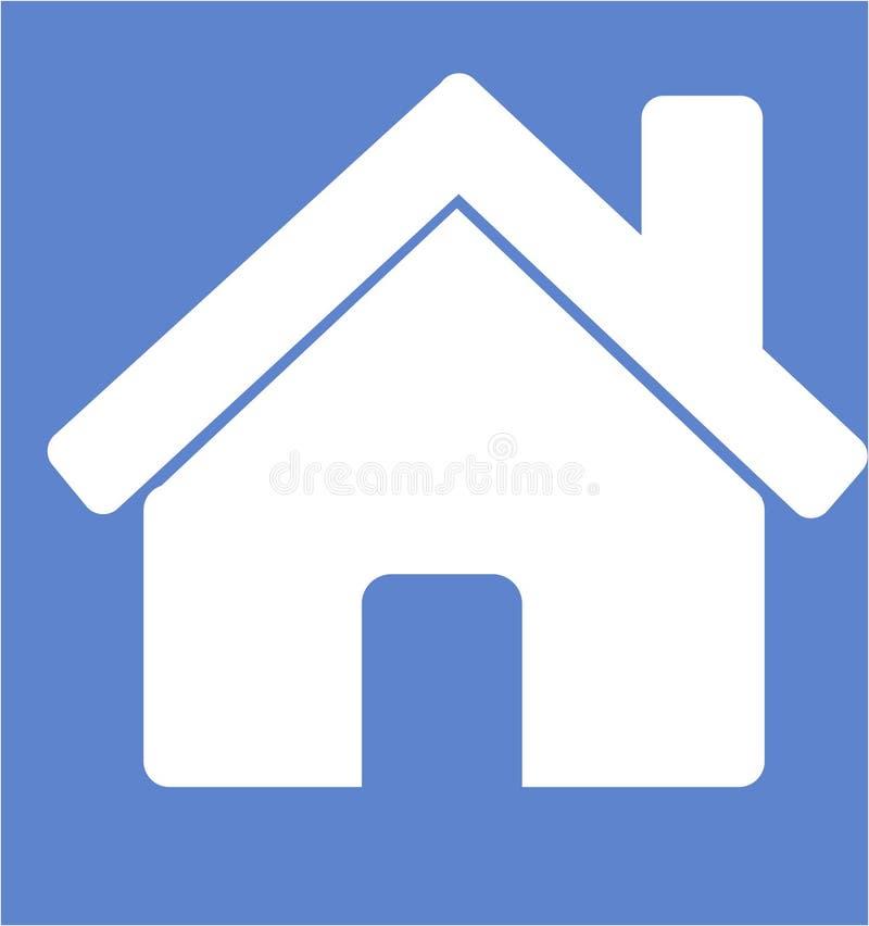 Ikony strony domowej mieszkanie royalty ilustracja