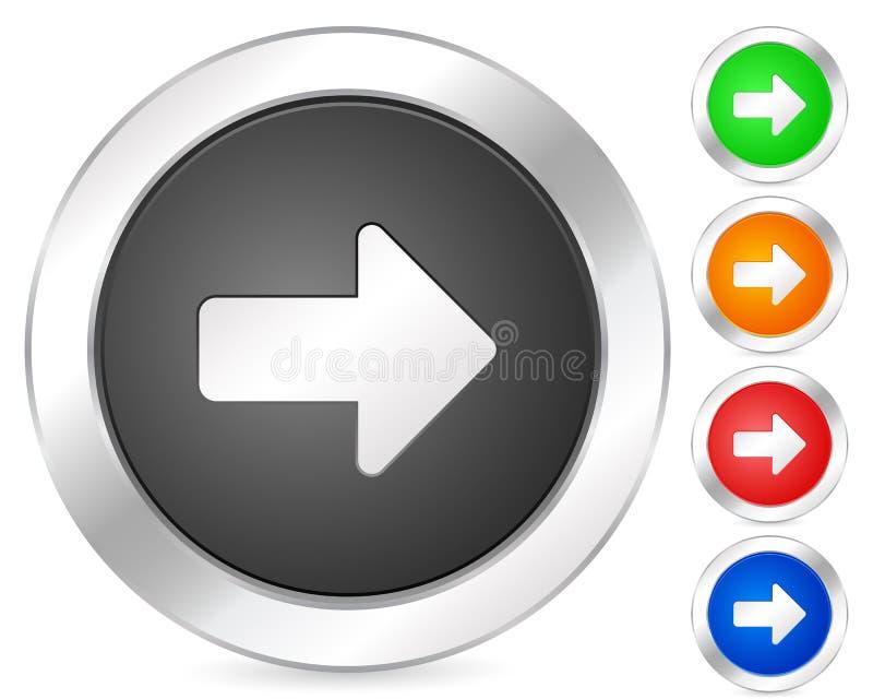 ikony strzałkowaty komputerowy dobro royalty ilustracja