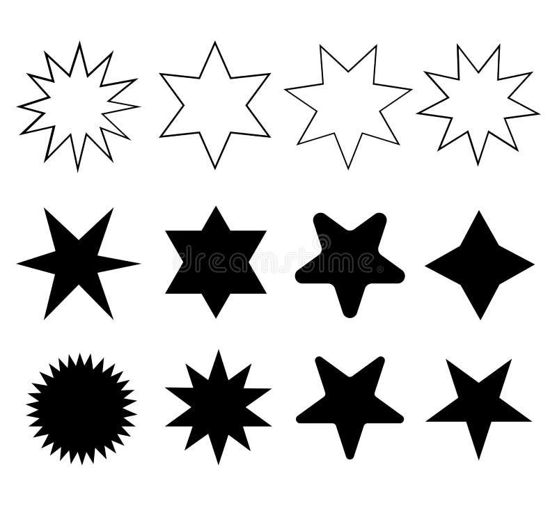 ikony ustawiaj?ca gwiazda ilustracja wektor