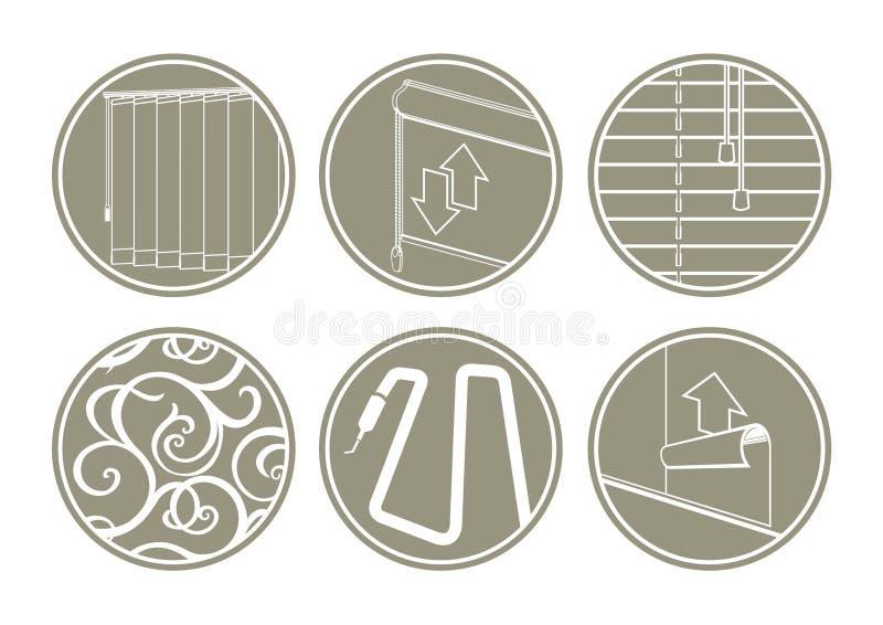 ikony wewnętrzne ilustracji
