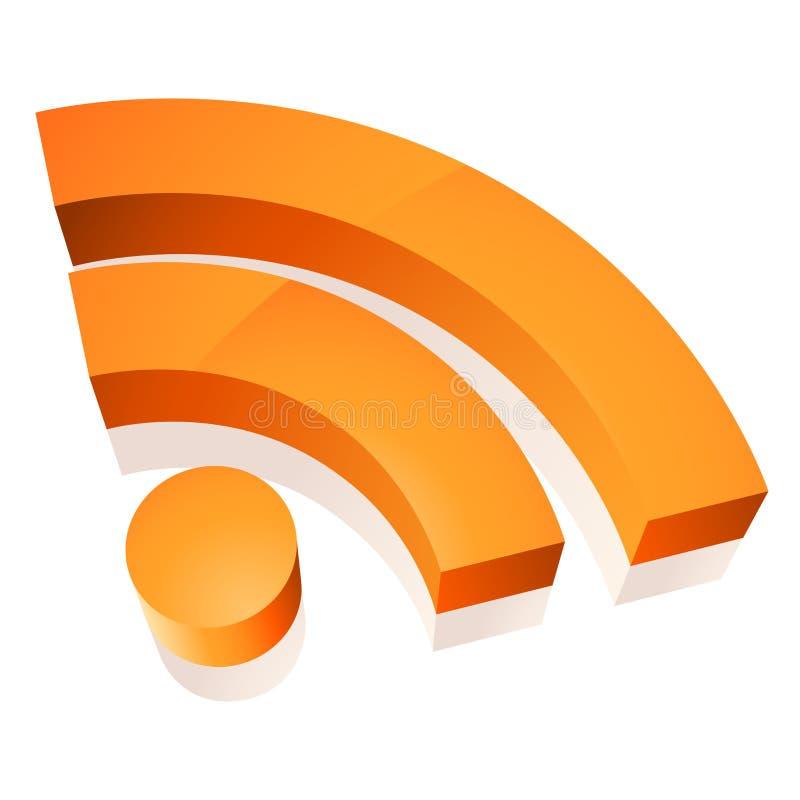 ikony wifi royalty ilustracja