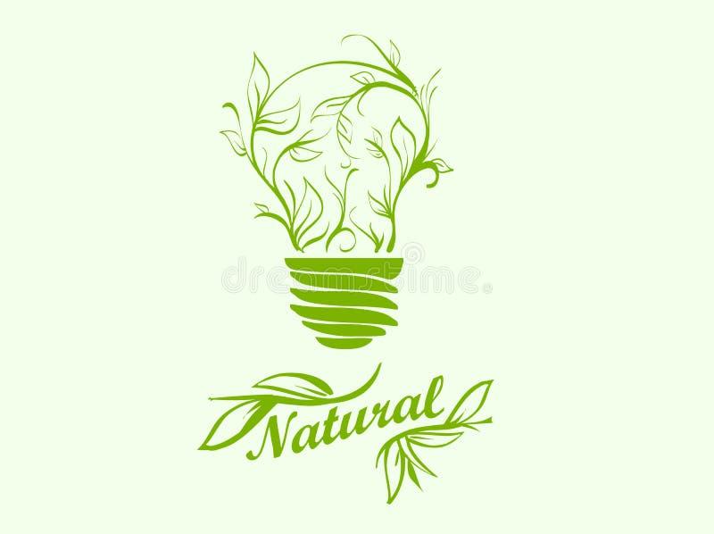 Ikony zielona energia ilustracja wektor