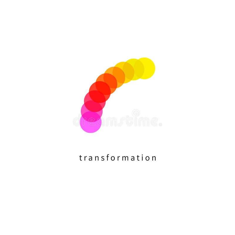 Ikony zmiana, transformacja ilustracja wektor