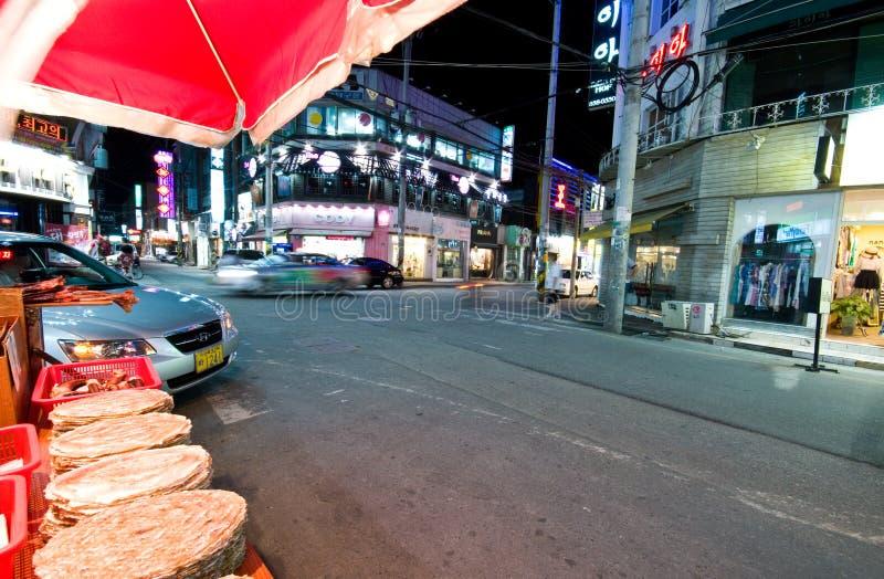 Iksan (South Korea) At Night Editorial Photography