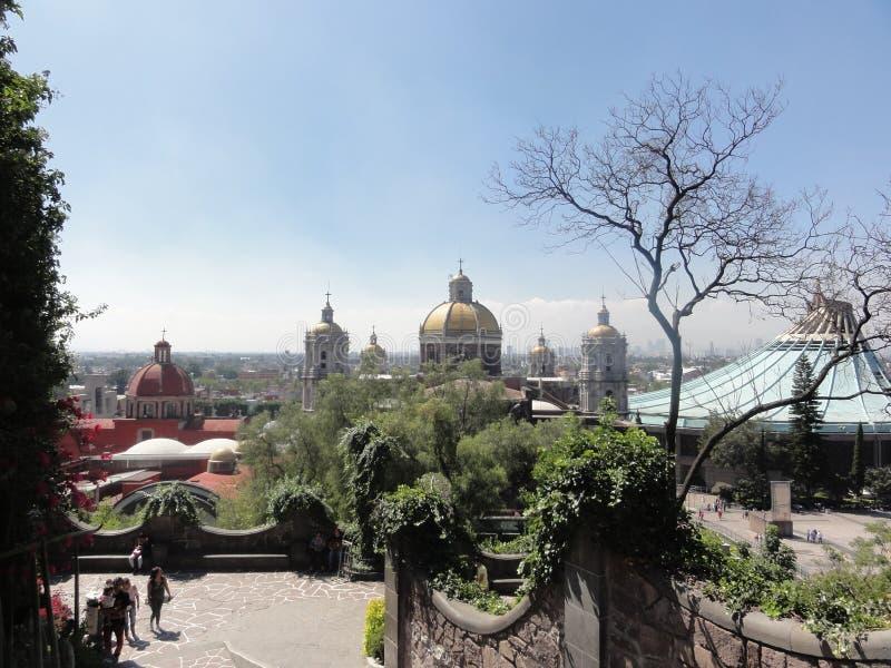 Il †«Messico diNostro-Signora-de-Guadalupe della basilica fotografia stock libera da diritti