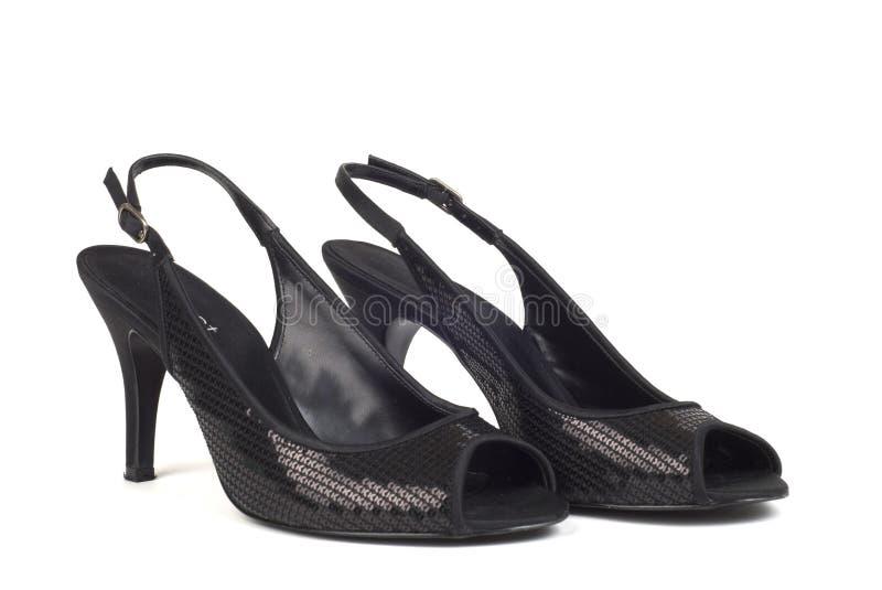 Il Alto-Tallone delle donne di colore calza 2 fotografie stock
