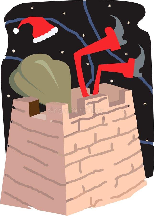 Il Babbo Natale illustrazione di stock