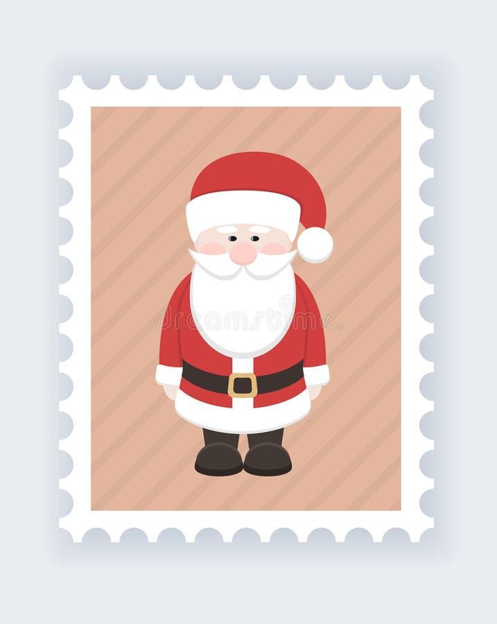 Il Babbo Natale _2 royalty illustrazione gratis