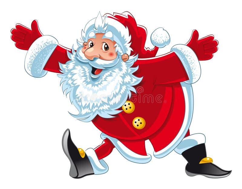 Download Il Babbo Natale illustrazione vettoriale. Illustrazione di omens - 7081073