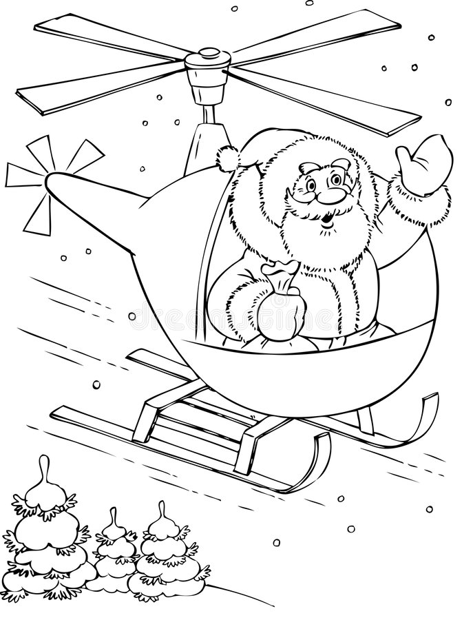 Download Il Babbo Natale illustrazione vettoriale. Illustrazione di cheery - 7318978