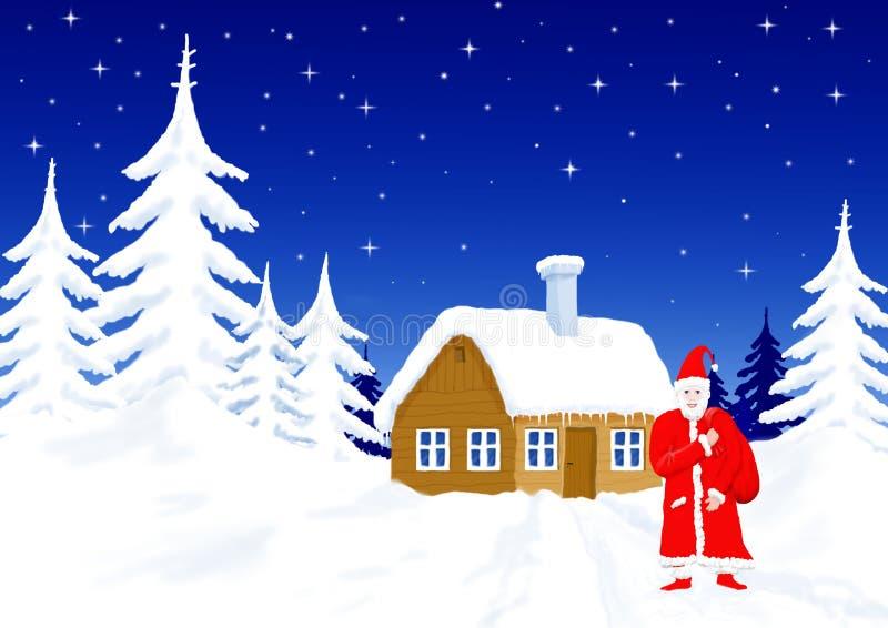 Download Il Babbo Natale illustrazione di stock. Illustrazione di claus - 7324569