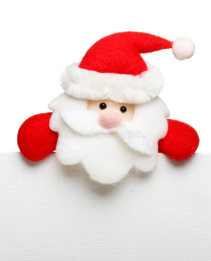 Il Babbo Natale ha isolato immagini stock libere da diritti