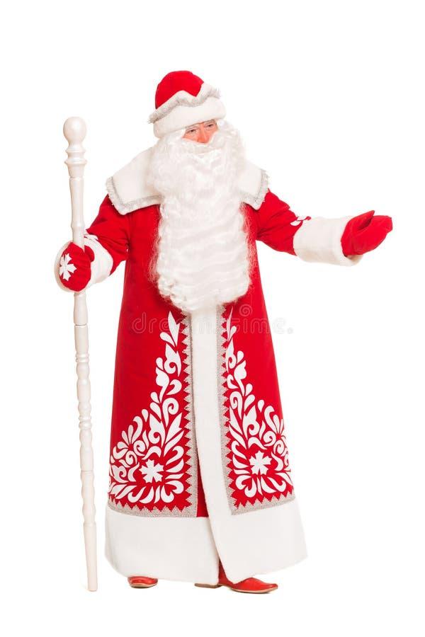 Il Babbo Natale _2 Isolato fotografia stock