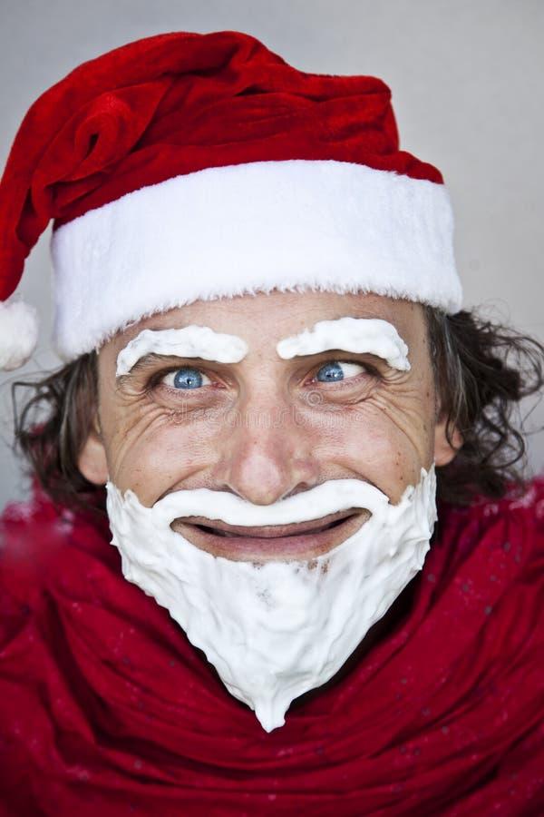 Il Babbo Natale molto cattivo immagini stock