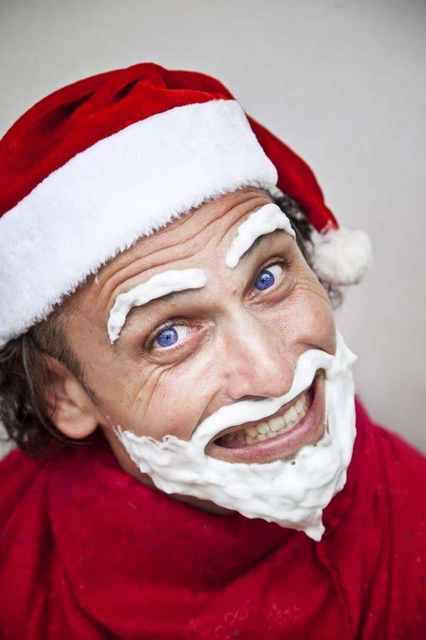 Il Babbo Natale molto cattivo immagini stock libere da diritti