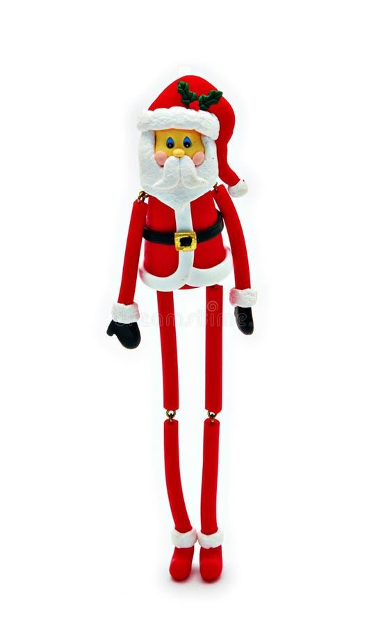 Il Babbo Natale scarno fotografia stock libera da diritti