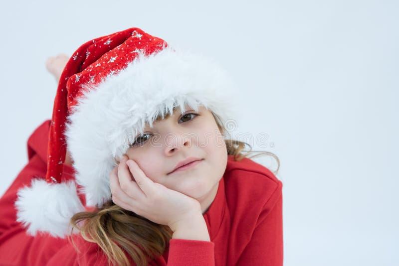 Il Babbo Natale sta venendo! fotografia stock