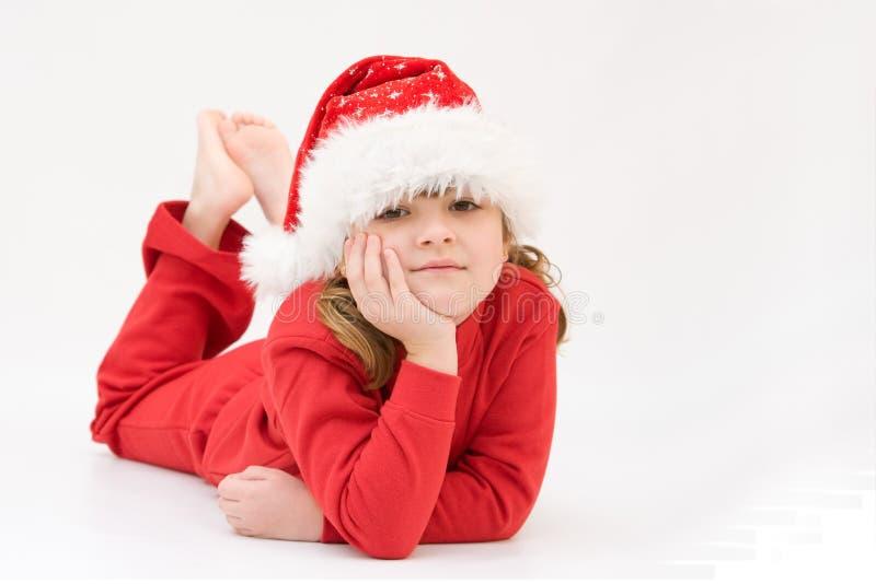 Il Babbo Natale sta venendo! fotografie stock libere da diritti