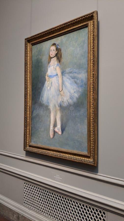 Il ballerino, impressionista 1847 di Auguste Renoir fotografia stock