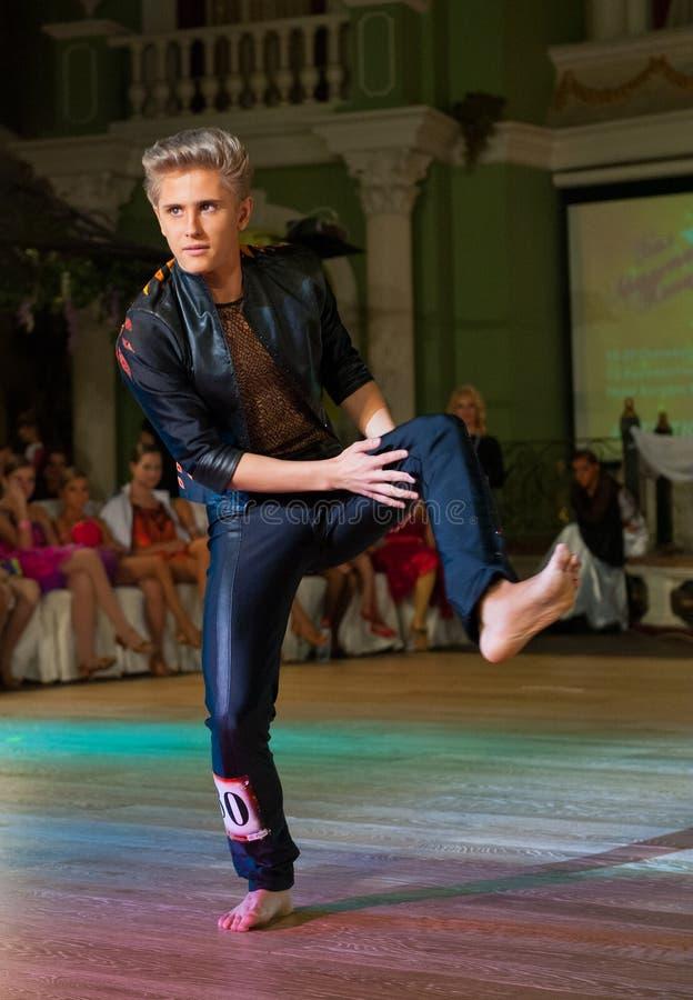 Il Ballo Artistico Assegna 2012-2013 Fotografia Editoriale