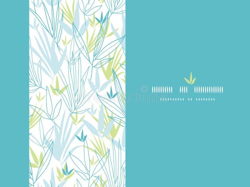 Download Il Bambù Blu Si Ramifica Fondo Verticale Della Decorazione Illustrazione Vettoriale - Illustrazione di arte, fiorisca: 30827472