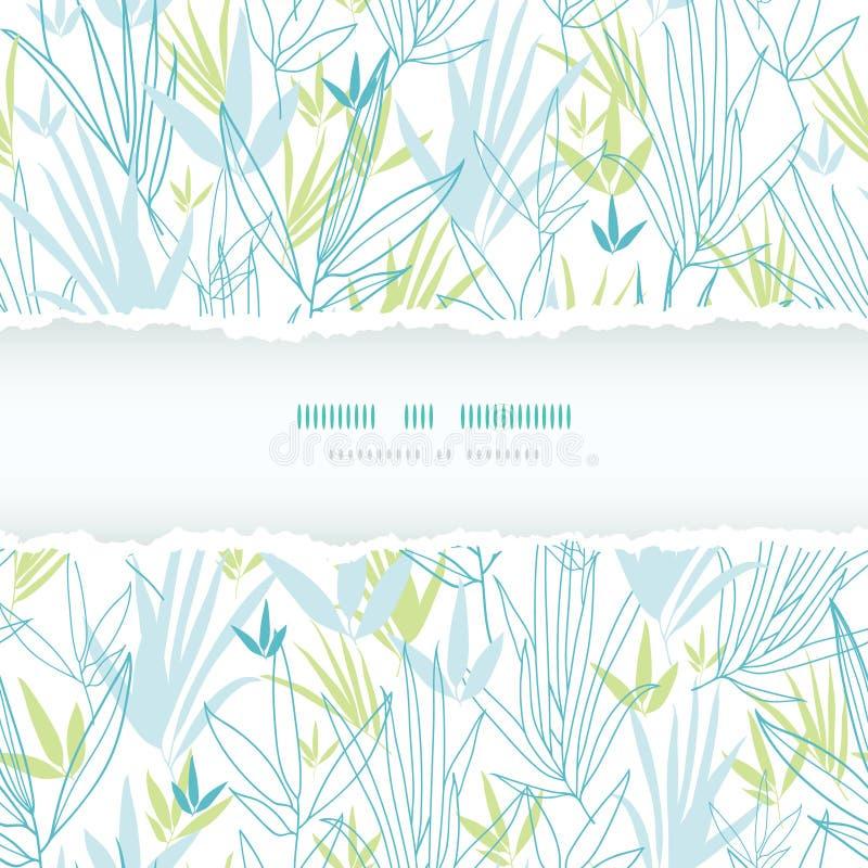Download Il Bambù Blu Si Ramifica Modello Senza Cuciture Della Struttura Lacerata Illustrazione Vettoriale - Illustrazione di contesto, illustrazione: 30827495