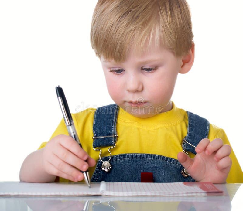 Il bambino fotografia stock libera da diritti