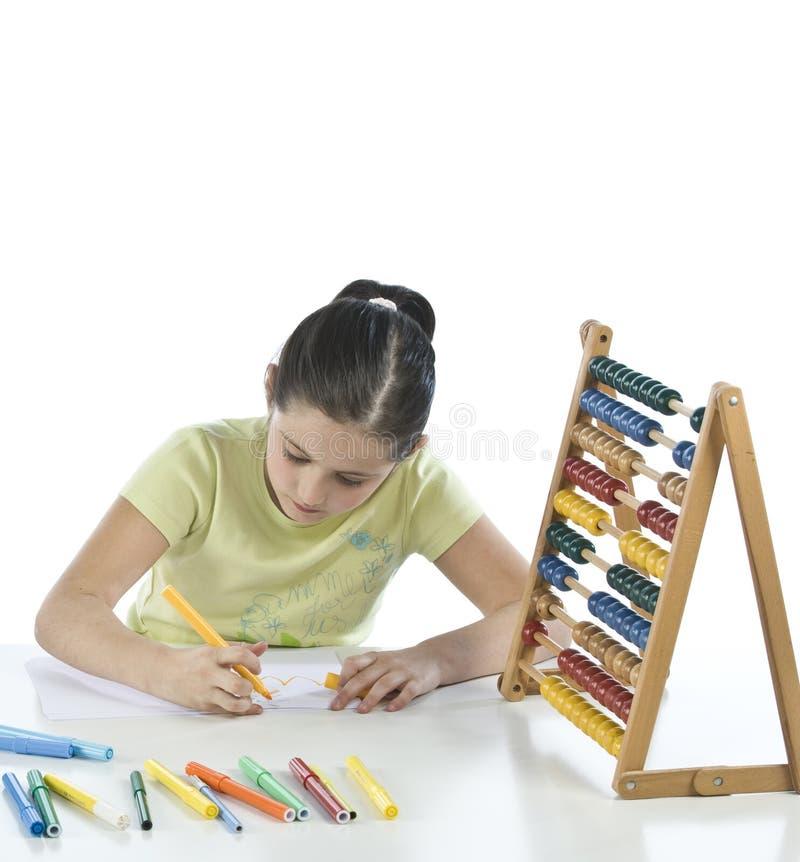Il bambino dissipa immagini stock libere da diritti