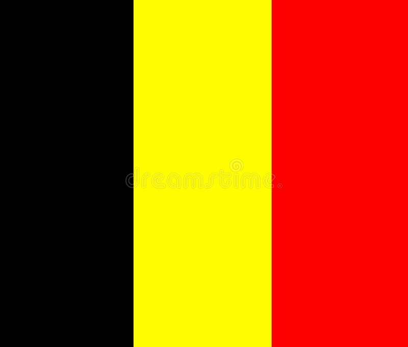 Il Belgio illustrazione vettoriale