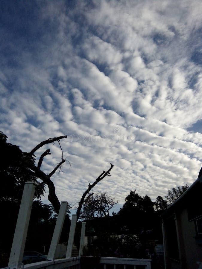 Il bello cielo immagini stock