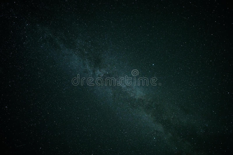 Il bello cielo notturno stars la Via Lattea immagini stock