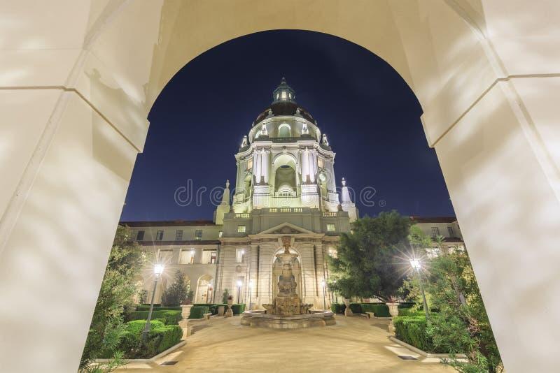 Il bello comune di Pasadena vicino a Los Angeles, California fotografie stock