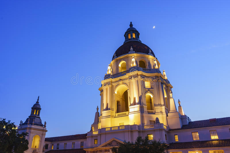 Il bello comune di Pasadena vicino a Los Angeles, California immagine stock