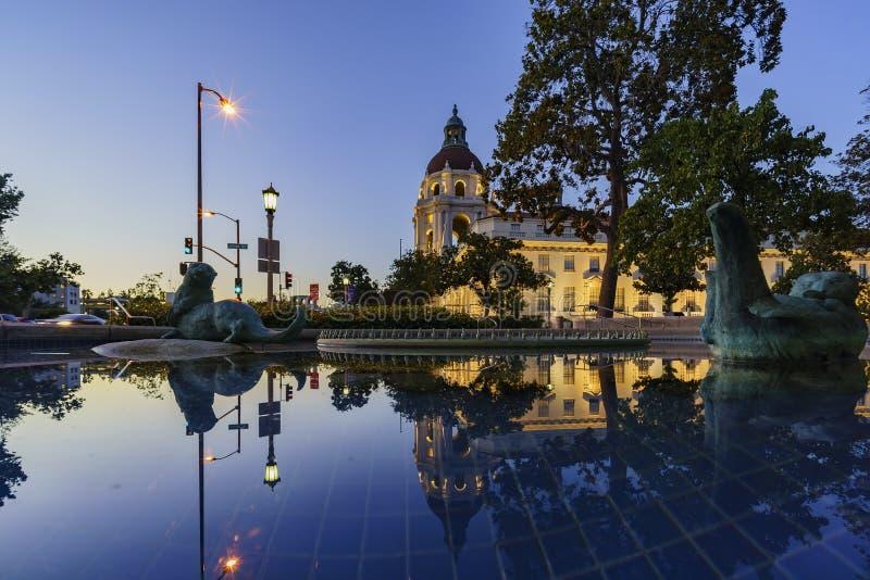 Il bello comune di Pasadena vicino a Los Angeles, California immagine stock libera da diritti