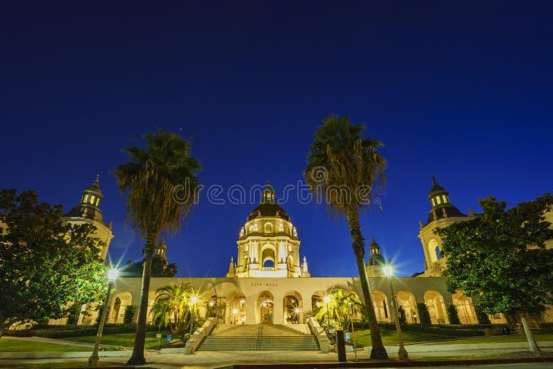 Il bello comune di Pasadena vicino a Los Angeles, California immagini stock libere da diritti